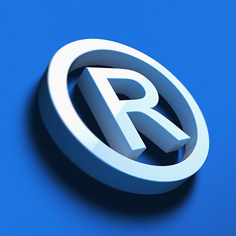 Registered Trademark Symbol R